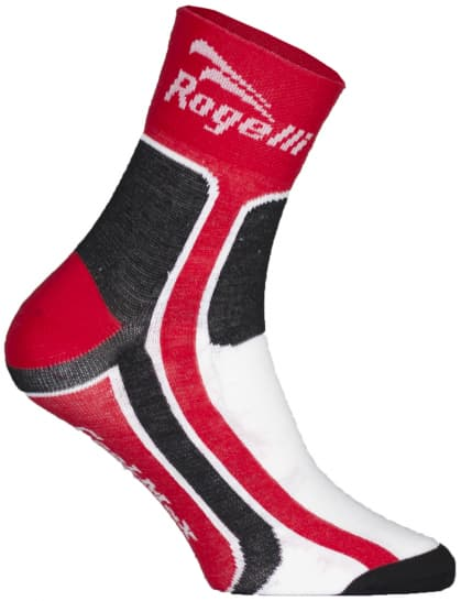 Mírně hřejivé funkční ponožky Rogelli COOLMAX, červené
