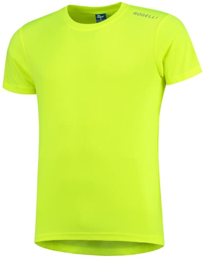 Dětské funkční tričko Rogelli PROMOTION, reflexní žluté