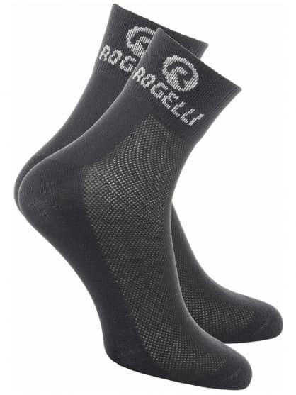 Ponožky s extra vysokou prodyšností Rogelli COOLMAX, černé