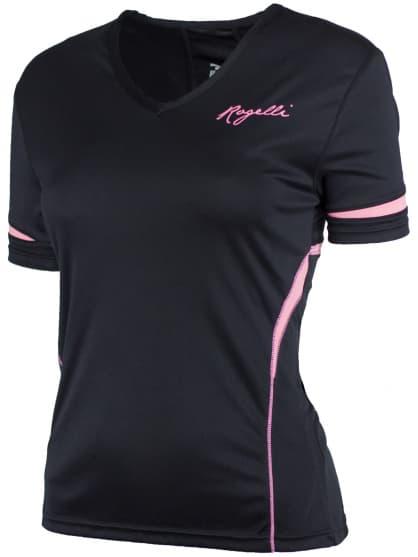 Dámské fitness tričko Rogelli FABRIZIA, černé