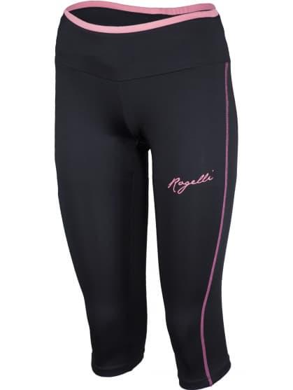Dámské fitness 3/4 kraťasy Rogelli FRIDA, černé