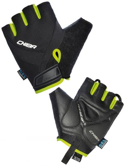Cyklistické rukavice Chiba AIR PLUS, černé