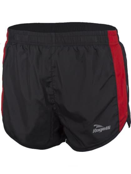 Běžecké šortky Rogelli FIRENZE, černo-červené