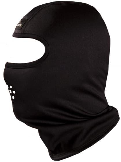 Softshellová zimní kukla Rogelli LAVIS, černá