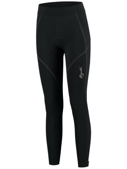Dámské cyklistické kalhoty Rogelli LUCETTE s gelovou cyklovýstelkou, černé