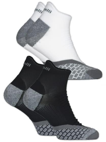Funkční ponožky Rogelli COOLMAX LOW RUN - 2 páry, různé velikosti