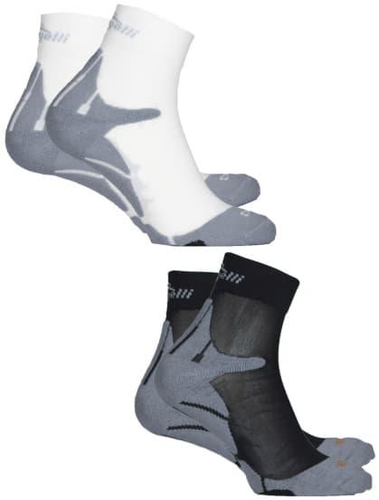 Funkční ponožky Rogelli COOLMAX RUN - 2 páry, různé velikosti