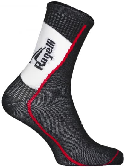 Středně silné funkční ponožky s mírnou kompresí Rogelli THERMOCOOL, černé