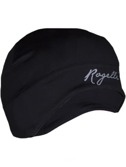 Dámská elastická čepice s otvorem pro vlasy Rogelli ZORA, černá