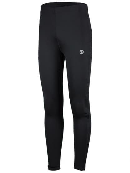 Elastické kalhoty se zipy po celé délce nohavic Rogelli BRENO, černé