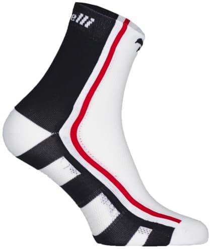 Antibakteriální funkční ponožky s mírnou kompresí Rogelli Q-SKIN, černé