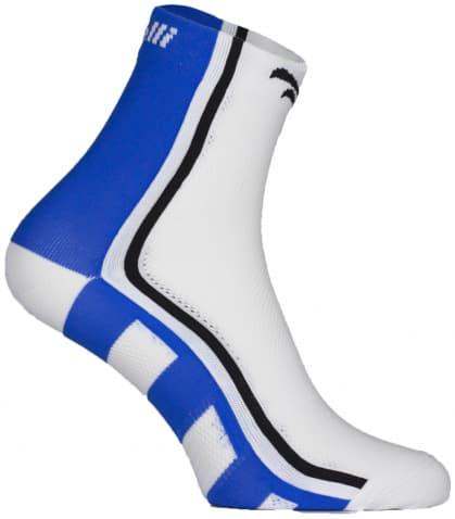 Antibakteriální funkční ponožky s mírnou kompresí Rogelli Q-SKIN, modré