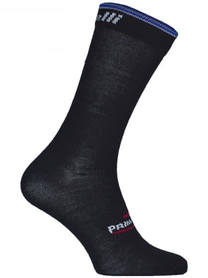 Středně silné funkční ponožky Rogelli PRIMALOFT, černo-modré