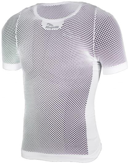Síťované funkční tričko AIR Rogelli s krátkým rukávem, bílé