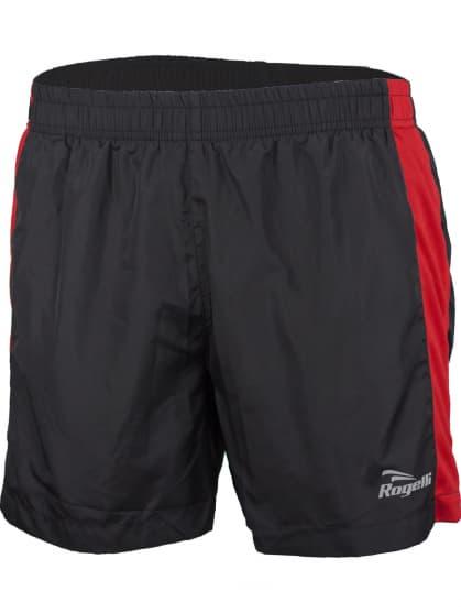 Běžecké šortky Rogelli TARANTO, černo-červené