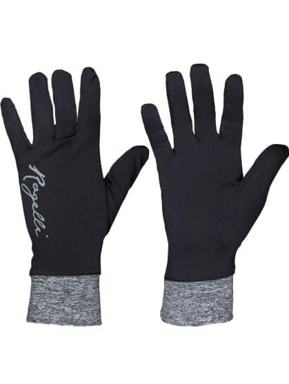 Extra slabé dámské rukavice Rogelli MARTA, černo-šedé