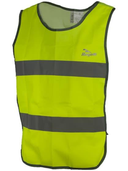 Bezpečnostní vesta s prodyšnými zády Rogelli MAPLETON, reflexní žlutá