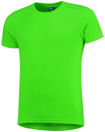 Dětské funkční tričko Rogelli PROMOTION, reflexní zelené