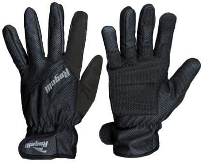 Slabé zimní membránové rukavice spolstrováním dlaně Rogelli ALBERTA 2.0, černé