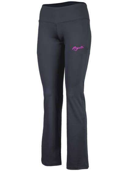 Dámské fitness kalhoty Rogelli FADYA, černo-růžové