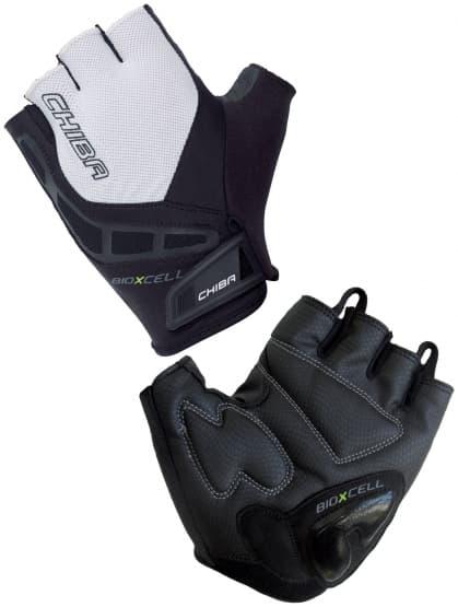 Cyklo rukavice Chiba BIOXCELL, černé