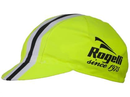 Sportovní kšiltovka Rogelli RETRO, reflexní žlutá