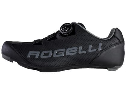 Cyklistické silniční tretry Rogelli AB410, černo-šedé