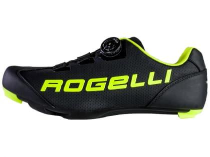 Cyklistické silniční tretry Rogelli AB410, černo-reflexní žluté