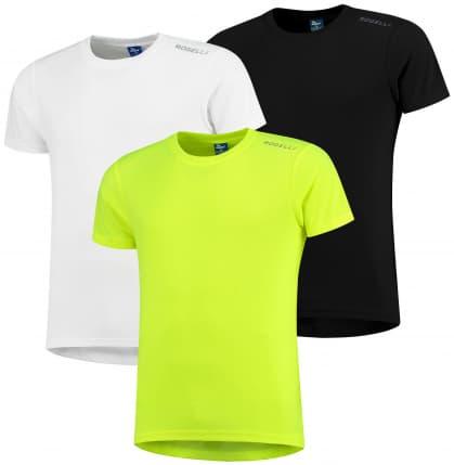Funkční trička Rogelli PROMOTION MIX BEST - 3 ks různé velikosti