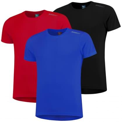 Funkční trička Rogelli PROMOTION MIX KLASIK - 3 ks různé velikosti