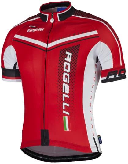 Cyklodres Rogelli GARA MOSTRO s krátkým rukávem, červený