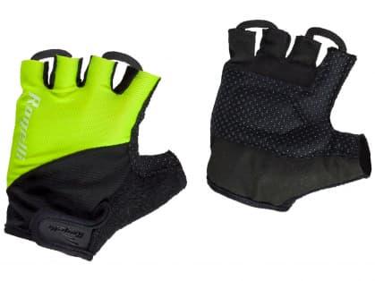 Cyklistické rukavice Rogelli DUCOR, reflexní žluté