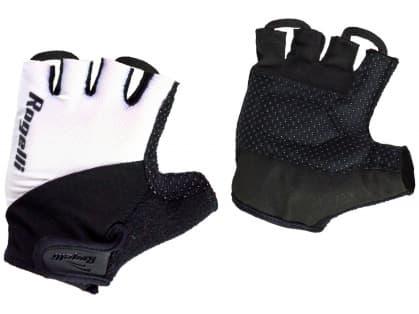 Cyklistické rukavice Rogelli DUCOR, bílé