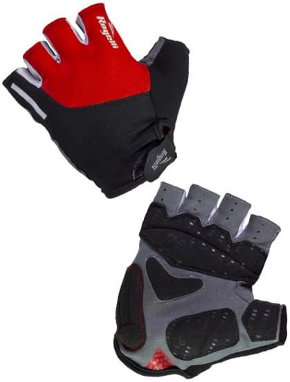 Cyklistické rukavice Rogelli ROCKFORD, červené