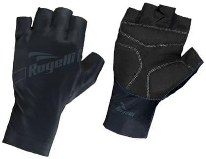 Cyklistické rukavice Rogelli LOGAN, černé