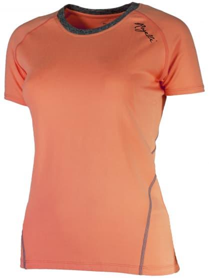 Dámské fitness tričko Rogelli ROSA, oranžové