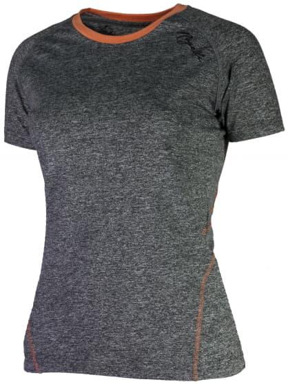 Dámské fitness tričko Rogelli ROSA, šedé