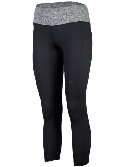 Dámské fitness kalhoty 7/8 délky Rogelli ROSIA, černé