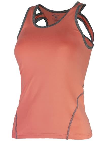 Dámské fitness tílko Rogelli ROMILDA, oranžové