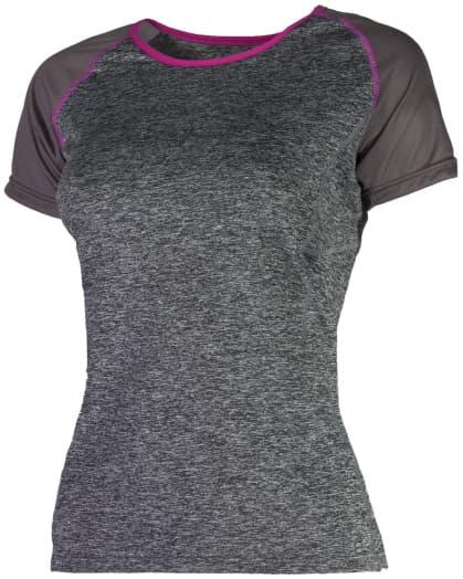 Dámské funkční tričko Rogelli SAMUELA, šedé