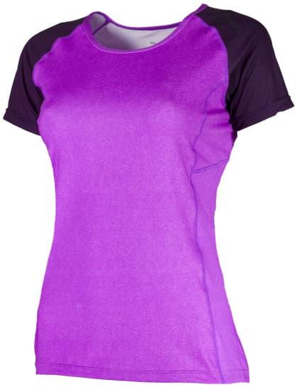 Dámské funkční tričko Rogelli SAMUELA, fialové