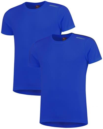 Funkční trička Rogelli PROMOTION - 2 ks různé velikosti, modrá
