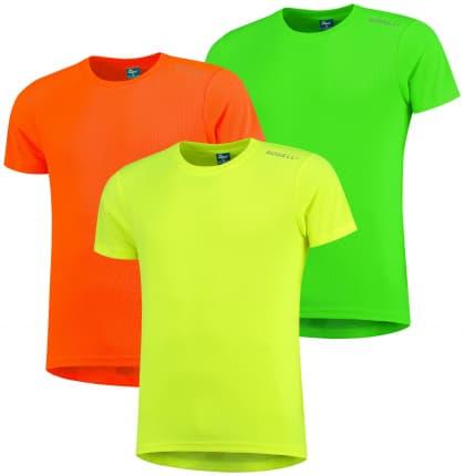 Dětská funkční trička Rogelli PROMOTION MIX REFLEX KIDS - 3 ks různé velikosti