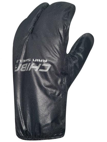 Slabé nepromokavé návleky na rukavice Chiba RAIN SHIELD SUPERLIGHT, černé
