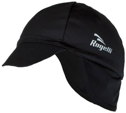 Softshellová čepice pod helmu Rogelli PROTTETIVO, černá