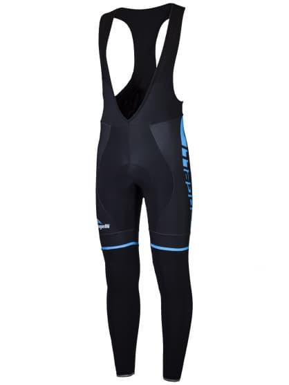 Cyklistické kalhoty Rogelli UMBRIA 2.0 s gelovou cyklovýstelkou, černo-modré