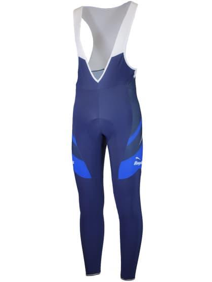 Cyklistické kalhoty Rogelli ANDRANO 2.0 s gelovou cyklovýstelkou, modré