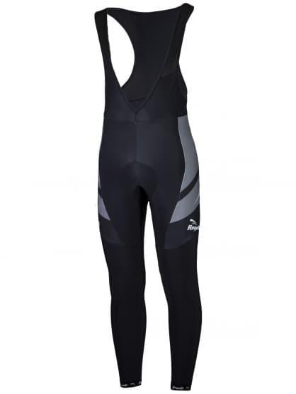 Cyklistické kalhoty Rogelli ANDRANO 2.0 s gelovou cyklovýstelkou, černo-šedé