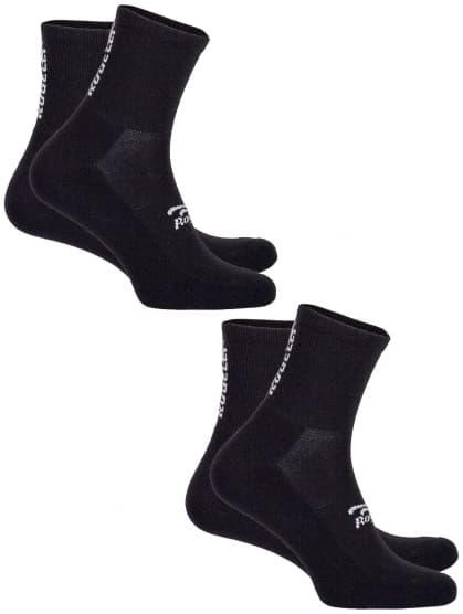 Funkční ponožky Rogelli COOLMAX EVERYDAY - 2 páry, černé