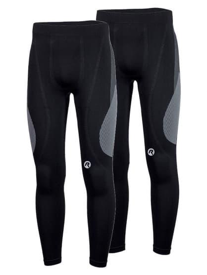 Funkční termo kalhoty Rogelli CORE - 2 kusy v balení, černé